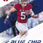 2017 Panini Prestige Blue Chip Prospects Christian McCaffrey