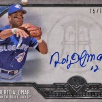 2017 Topps Museum Collection Baseball Archival Autographs Roberto Alomar