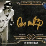 2017 Topps Museum Collection Baseball Premium Print Autographs Gold Ink Don Mattingly