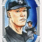 2017 Topps Museum Collection Canvas Collection Reprint Aaron Judge