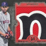 2017 Topps Museum Collection Momentous Material Jumbo Patch David Price