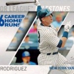 2017 Topps Series 2 Major League Milestones Alex Rodriguez