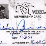 2017 Upper Deck Clerks RST Video Autograph Betty