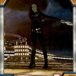 2017 Upper Deck Guardians of the Galaxy Volume 2 Base Gamora