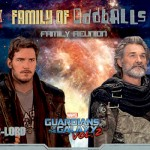 2017 Upper Deck Guardians of the Galaxy Volume 2 Family of Oddballs