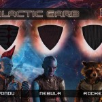 2017 Upper Deck Guardians of the Galaxy Volume 2 Galactic Garb Triple