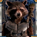 2017 Upper Deck Guardians of the Galaxy Volume 2 Parallel Blue Foil