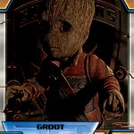 2017 Upper Deck Guardians of the Galaxy Volume 2 Parallel Bronze Foil B