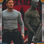 2017 Upper Deck Guardians of the Galaxy Volume 2 Parallel Red FOil D