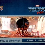 2017 Upper Deck Guardians of the Galaxy Volume 2 Spaceships