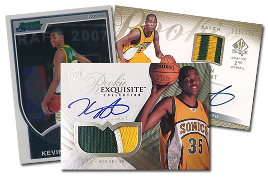 Kevin Durant Rookie Card Rankings And Countdown