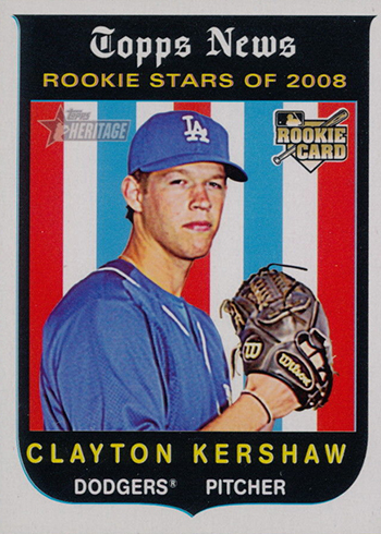 Most Valuable Clayton Kershaw Rookie Card Rankings