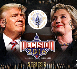 DECISION 2016 SERIES GOLD FOIL TRUMP UNDER FIRE TUF34 WOMEN WHO GET ABORTIONS
