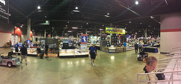 Wednesday At The National Sports Collectors Convention