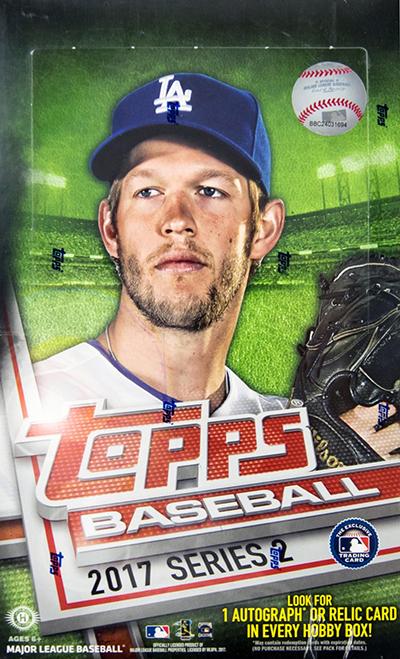 2017 Topps Series 2 Baseball Video Box Break