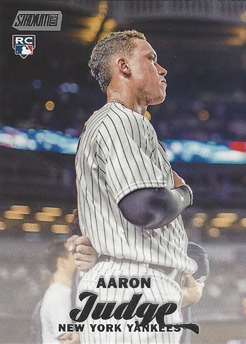 Aaron Judge Rookie Cards And Prospect Cards