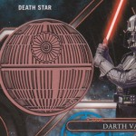 2017 Topps Star Wars Galactic Files Reborn Medallion Darth Vader Death Star