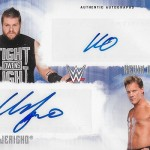 2017 Topps WWE Undisputed Dual Autographs Kevin Owens Chris Jericho