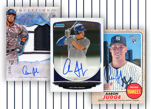 Definitive Aaron Judge Autograph Cards Guide And Gallery
