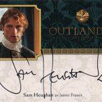 2017 Cryptozoic Outlander Season 2 Autograph Sam Heughan