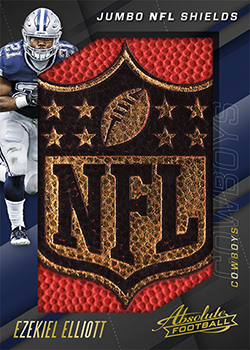 82226fb1aa9 2017 Panini Absolute Football Checklist, Team Sets, Details, Release ...