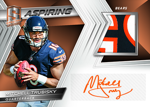 Rookie Dual Patch Autographs combine swatches and signatures from a pair of  players. Base versions are numbered to 25 and parallels go down from there. 1c5845c0c