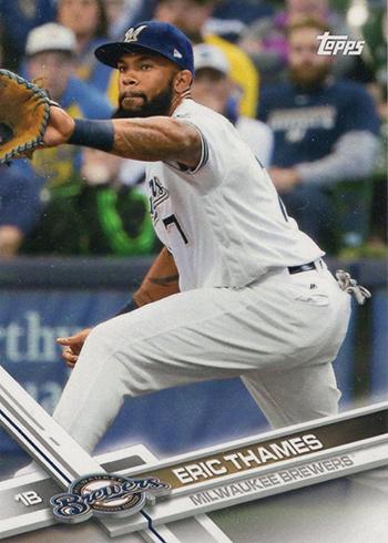 2017 Topps New Era Baseball Checklist Card Info Cap Details