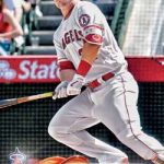 2018 Topps Series 1 Baseball Base Mike Trout