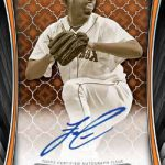 2018 Topps Tribute Baseball Iconic Perspectives Autographs Orange