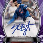 2018 Topps Tribute Baseball Tribute to the Moment Autograph Purple