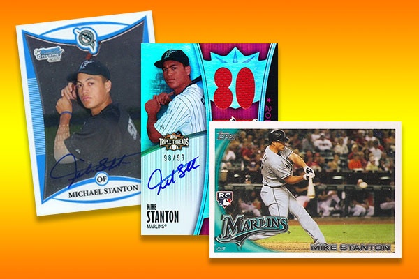 new product bfb83 b9efe Giancarlo Stanton Rookie Card Rankings and Other Key Early Cards