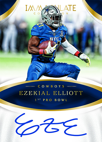 2017 Panini Immaculate Football Immaculate Moments