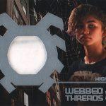2017 Upper Deck Spider-Man Homecoming Webbed Threads Zendaya