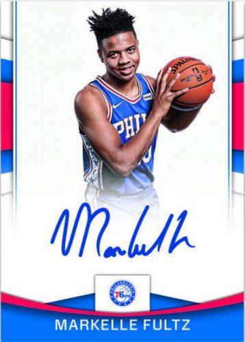 cd1338413e3 2017-18 Donruss Basketball Markelle Fultz Autograph