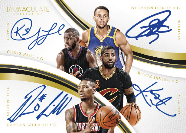 8c3f72bba485 2016-17 Panini Immaculate Collection Basketball Checklist Details