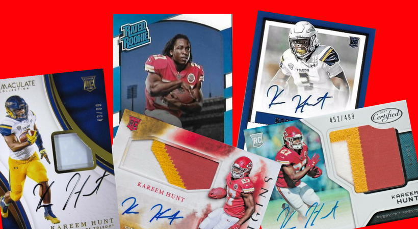 Kareem Hunt Cards