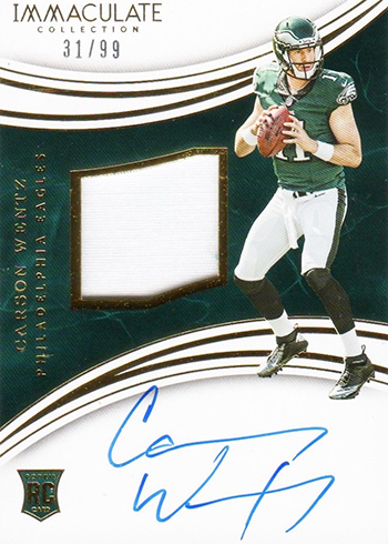60f58cb08 Most Valuable Carson Wentz Rookie Card Rankings