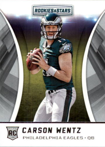 competitive price 52896 77b9d Most Valuable Carson Wentz Rookie Card Rankings
