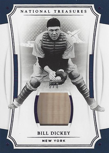 2017 Panini National Treasures Baseball Bill Dickey Bat