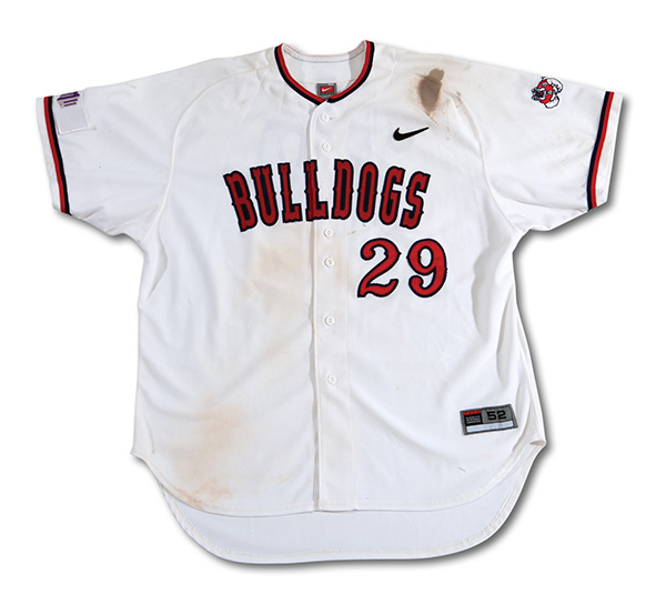 f9f521076 Aaron Judge Game-Used Fresno State College Jersey Up for Auction