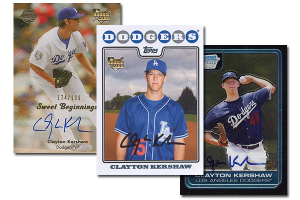 304309891bc Most Valuable Clayton Kershaw Rookie Card Rankings
