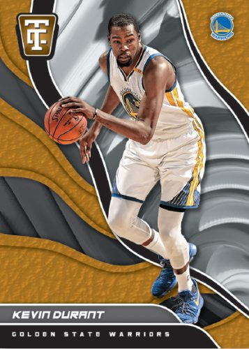 2017-18 Panini Totally Certified Basketball Gold Kevin Durant