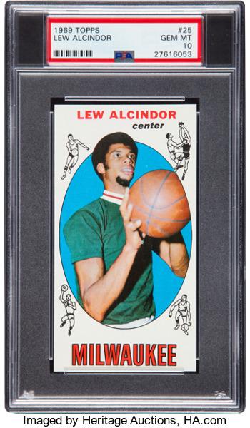 1969-70 Topps Lew Alcindor PSA 10