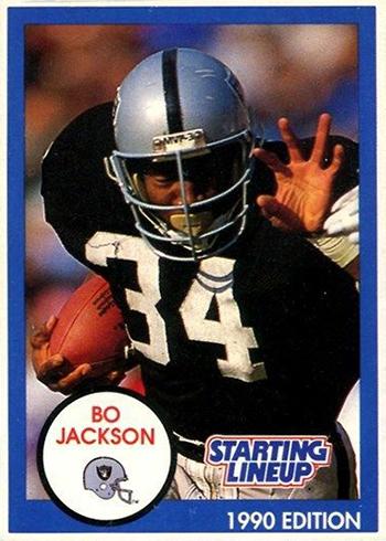 1990 Starting Lineup Bo Jackson