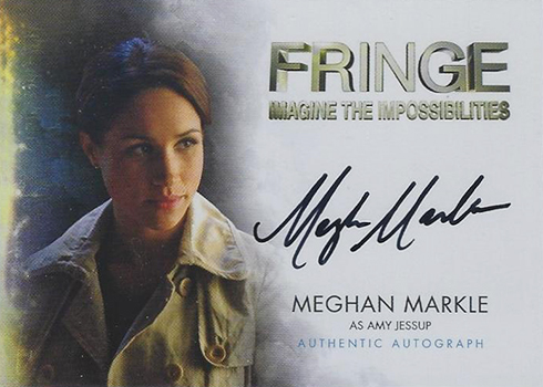 2012 Cryptozoic Fringe Seasons 1 and 2 Meghan Markle Autograph