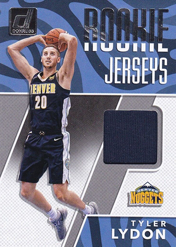 2017-18 Donruss Basketball Rookie Jerseys Tyler Lydon