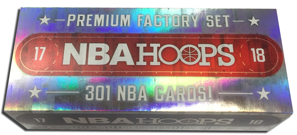 f1843af89a27 Panini has produced a 2017-18 Hoops Premium Factory Set that not only comes  with limited versions of the base set