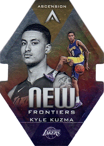 2017-18 Panini Ascension Basketball New Frontiers Kyle Kuzma