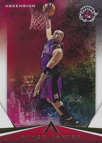 2017-18 Panini Ascension Basketball Throwback Variations Vince Carter