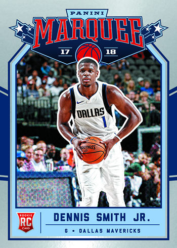 2017-18 Panini Chronicles Basketball Marquee Dennis Smith Jr.